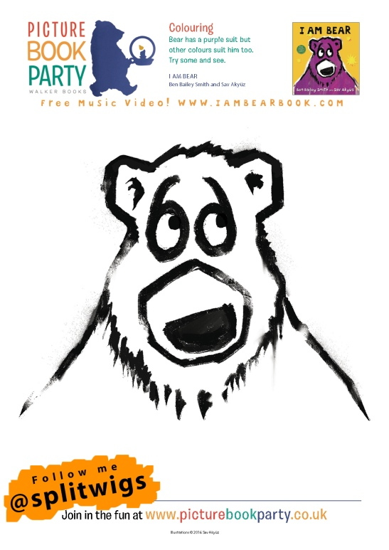 I Am Bear Activity Sheets SA1