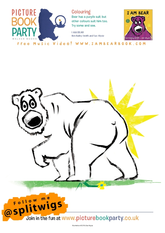 I Am Bear Activity Sheets SA3