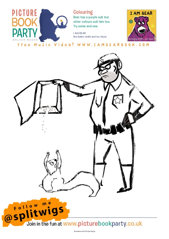 I Am Bear Activity Sheets SA7
